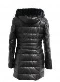 Куртка кожаная, черная, 13050-3