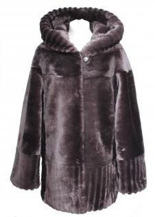 Шуба мутон Золотое Руно 1901B