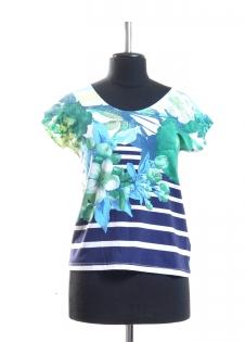 Блуза Carlo Цветы