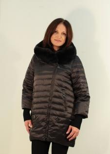 Куртка STYLEX 8100 кролик на капюшоне